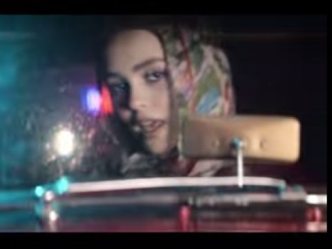 Johnny Depp's daughter Lily-Rose plays paparazzi in a music video