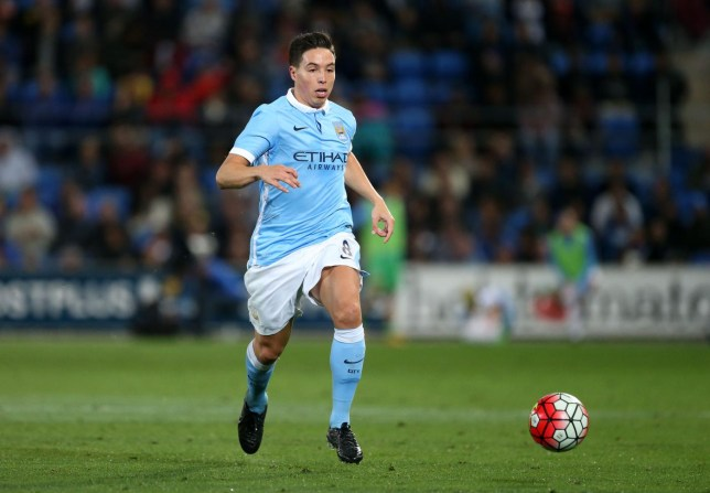 Manchester City's Samir Nasri in action Jason O'Brien/Reuters