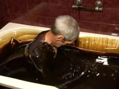 There's a spa where you can bathe in crude oil – if you like