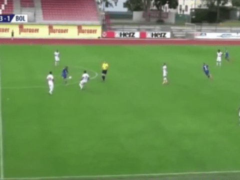 Watch Paderborn midfielder Marcel Ndjeng score outrageous 40-yard volley against Bolton