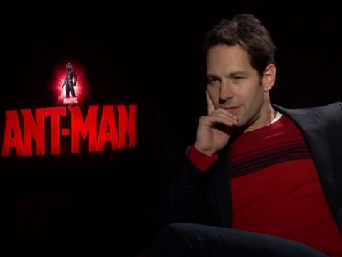 Paul Rudd just 'farted' all the way through an Ant-Man interview