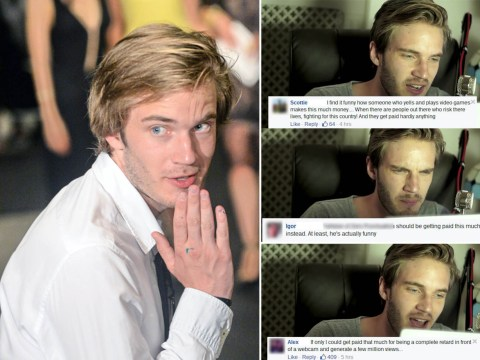 'Millionaire' YouTube gaming star PewDiePie hits back at haters