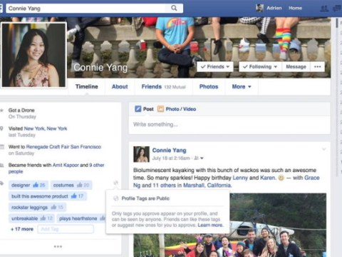Facebook is making it easier for people you don't know to find you