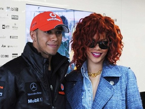 Is Rihanna the latest lady to get Lewis Hamilton's heart racing?