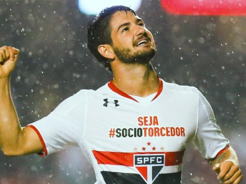 Everton, West Ham and Crystal Palace 'in transfer race to land Corinthians striker Alexandre Pato'