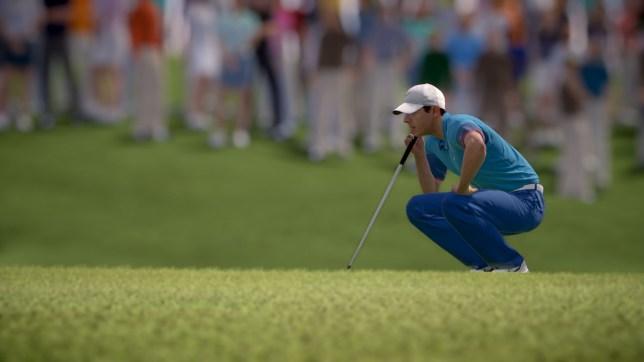 Rory McIlroy PGA Tour - EA's last golf game was 2015