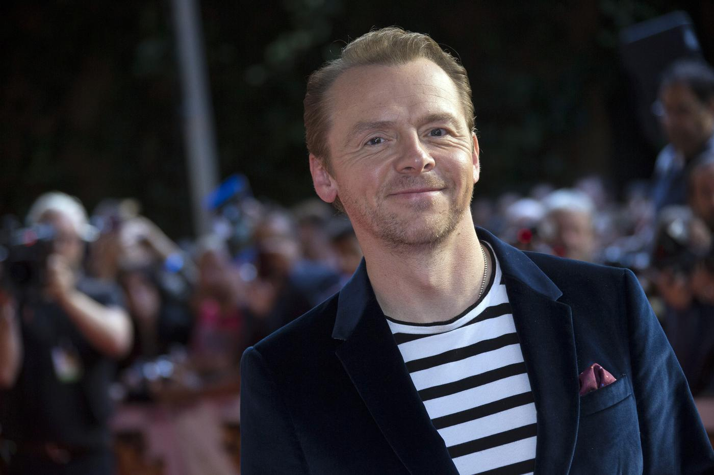 Simon Pegg is in everything but don't worry, he WON'T be in Game of Thrones