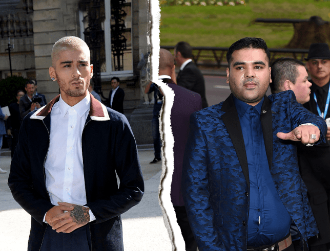 Naughty Boy is still angry with former friend Zayn Malik (Picture: REX Features)