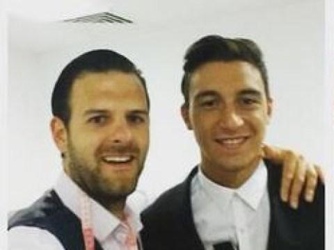 Bastian Schweinsteiger, Morgan Schneiderlin and Matteo Darmian get club suits after Manchester United transfers