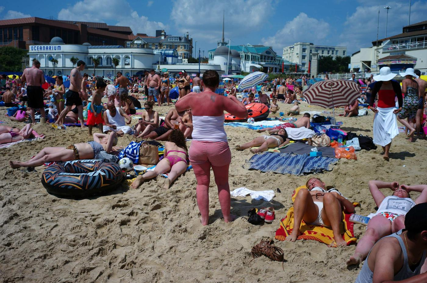 We still can't get the hang of tanning (Picture: Kieran Doherty/Reuters)