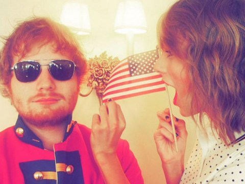 Ed Sheeran donned a red coat for Taylor Swift's Fourth of July party – and they're not the only ones celebrating