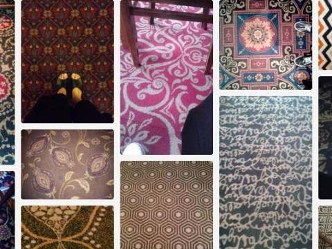 Definitive proof that no two Wetherspoons carpets are the same