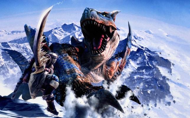 Monster Hunter - imagine Destiny with swords