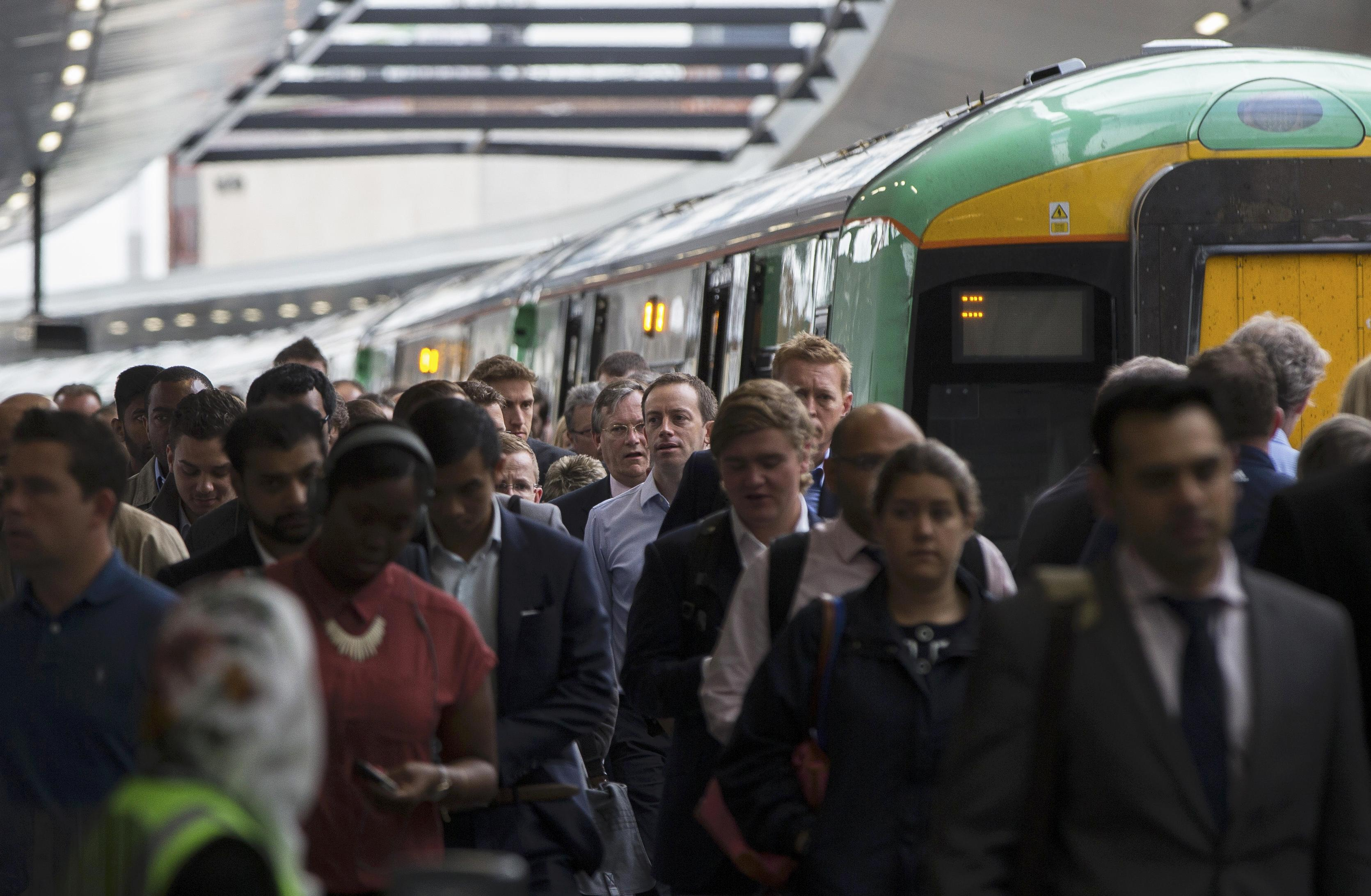 Network Rail faces £2 million fine over late trains and London Bridge chaos