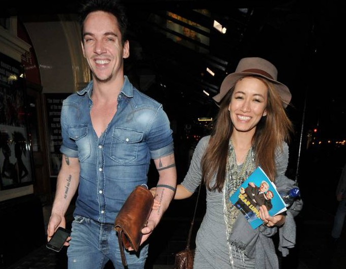 Jonathan Rhys Meyers is back on form! Actor has brushed off shocking relapse and looks happy and healthy again