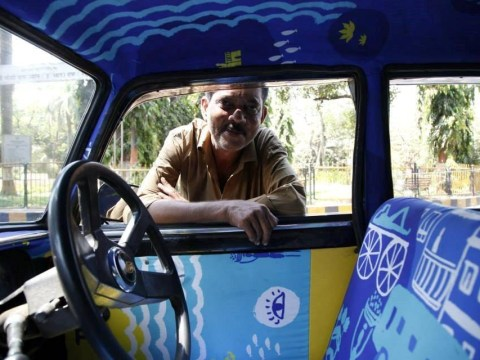 Are these Mumbai taxis the most stylish taxis in the world?