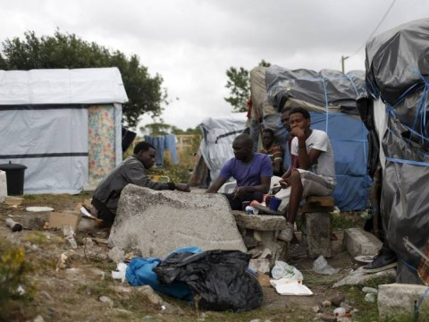Inside the Calais jungle: A look at daily migrant camp life