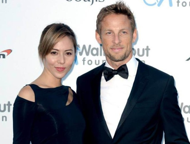 """Formula One driver Jenson Button and his wife Jessica who have been burgled on holiday and """"most upsettingly"""" the thieves made off with her engagement ring. PRESS ASSOCIATION Photo. Issue date: Friday August 7, 2015. It is feared the pair, who were with friends in a villa in St Tropez, may have been gassed by the robbers as they slept. See PA story POLICE Button. Photo credit should read: Anthony Devlin/PA Wire"""
