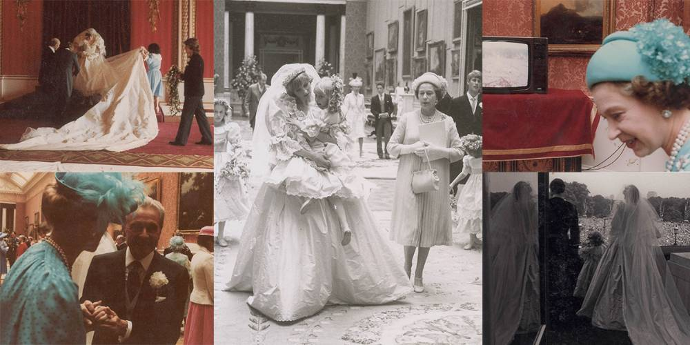 Behind The Scenes Pictures From Princess Diana S Wedding Day Have