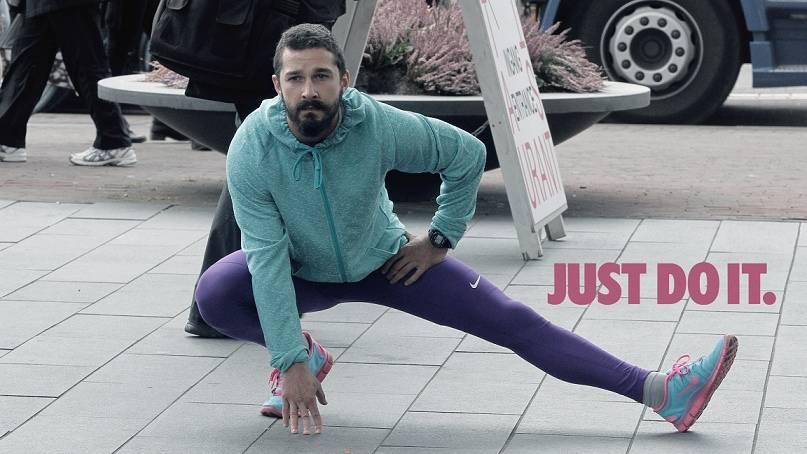 Shia LeBeouf's Nike ad just got the internet Photoshop treatment