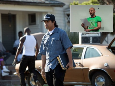 Harsh? Radio station pranks actor into rapping about poo for Straight Outta Compton 2