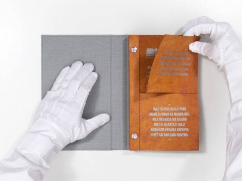 'Drinkable' book can kill bacteria in unclean water