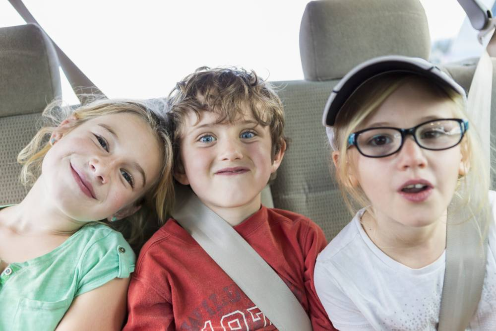 21 things that happen on every family car journey