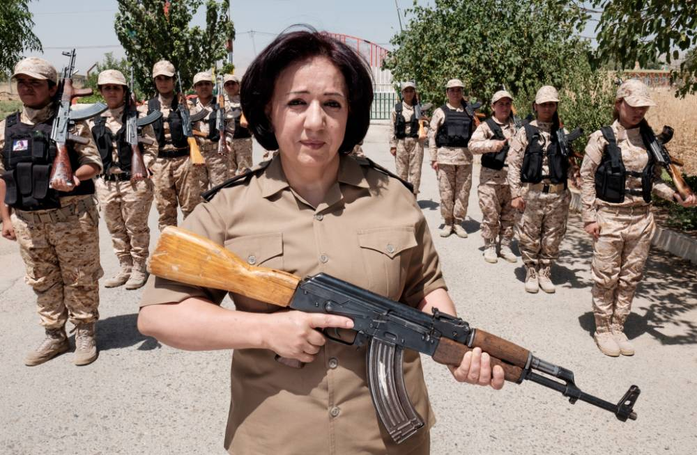 'It is dishonourable to be killed by a woman': Female fighters are Isis' 'worst nightmare'