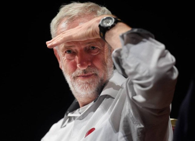 epa04887639 Candidate for the British Labour Party leader, Jeremy Corbyn during a press conference at Ealing Town Hall in west London, England, 17 August 2015. The labour leadership election will be announced on Saturday 12 September 2015. Jeremy Corbyn is one of the contenders in the British Labour Party leadership campaign, other candidates are Andy Burnham, Yvette Cooper, and Liz Kendall. EPA/FACUNDO ARRIZABALAGA
