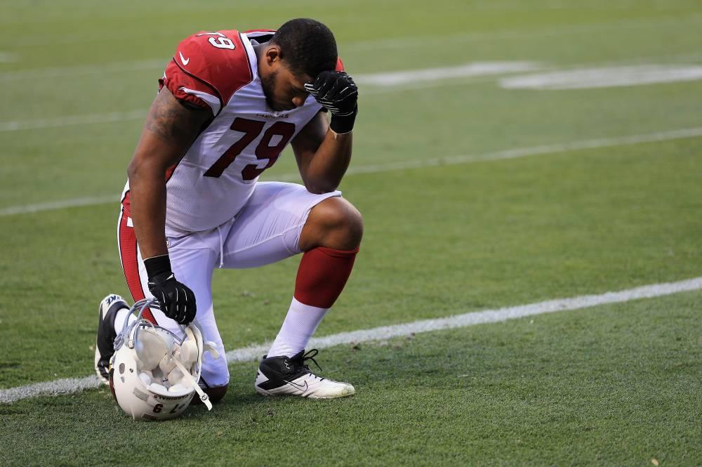 David Carter of the Arizona Cardinals NFL football team (Photo by Doug Pensinger/Getty Images)