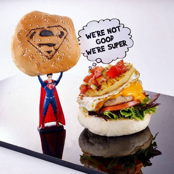 dcsh cafe There's a DC Comics Superhero cafe opening in Singapore which serves specially themed 'Batman' burgers Link - https://www.facebook.com/DCSHCafe/timeline Link - https://instagram.com/dcshcafe/