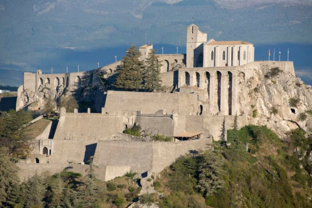 Fortress, Vauban, Sisteron, France (Photo by: Education Images/UIG via Getty Images)