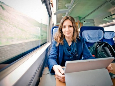 Woman decides it's cheaper to live in a train than a flat