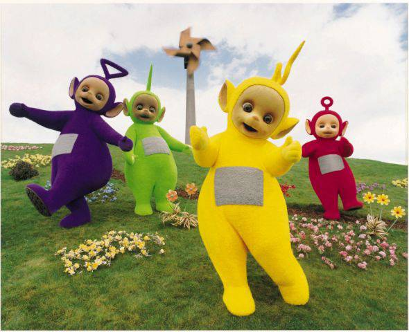 People are freaking out over the terrifying discovery that the Teletubbies are 10ft tall