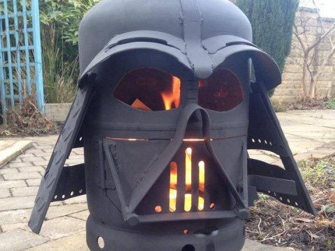Everyone's losing their sh*t over this Darth Vader fire pit