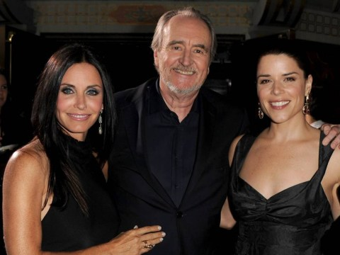 Scream star Courteney Cox leads tributes to horror maven Wes Craven