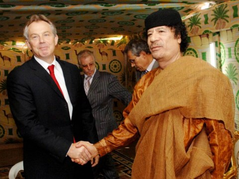 Tony Blair urged Gaddafi to 'find a safe place' during Libyan revolt, suggest newly released emails