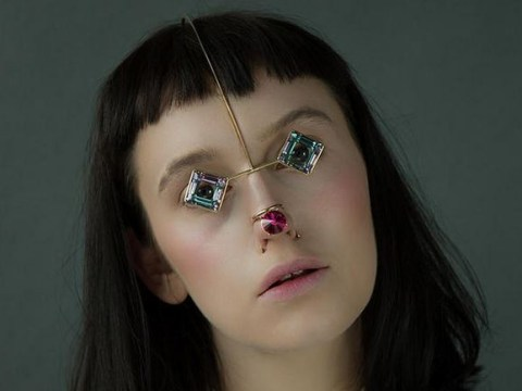 This new collection of face jewellery is statement accessorising taken to new heights