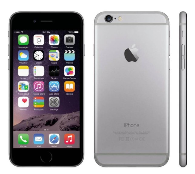 The iPhone 6.