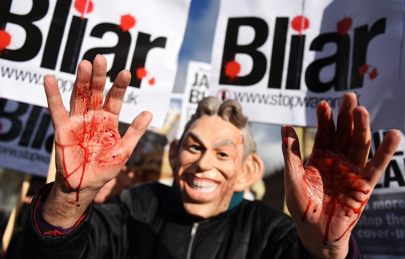 Tony Blair should be 'dragged to court in shackles and tried as a war criminal'