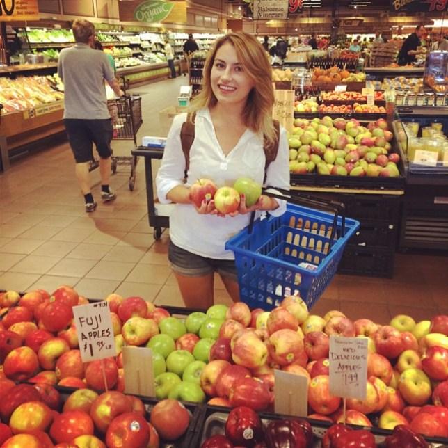 I've always loved a bit of fruit and veg - but could I go fully plant-based? (Picture: Deni Kirkova)