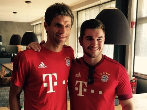 Paris train hero invited to meet Thomas Muller and the rest of the Bayern Munich squad