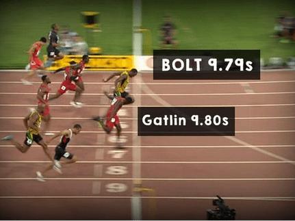 Watch Usain Bolt save athletics by winning 100m World Championships against Justin Gatlin
