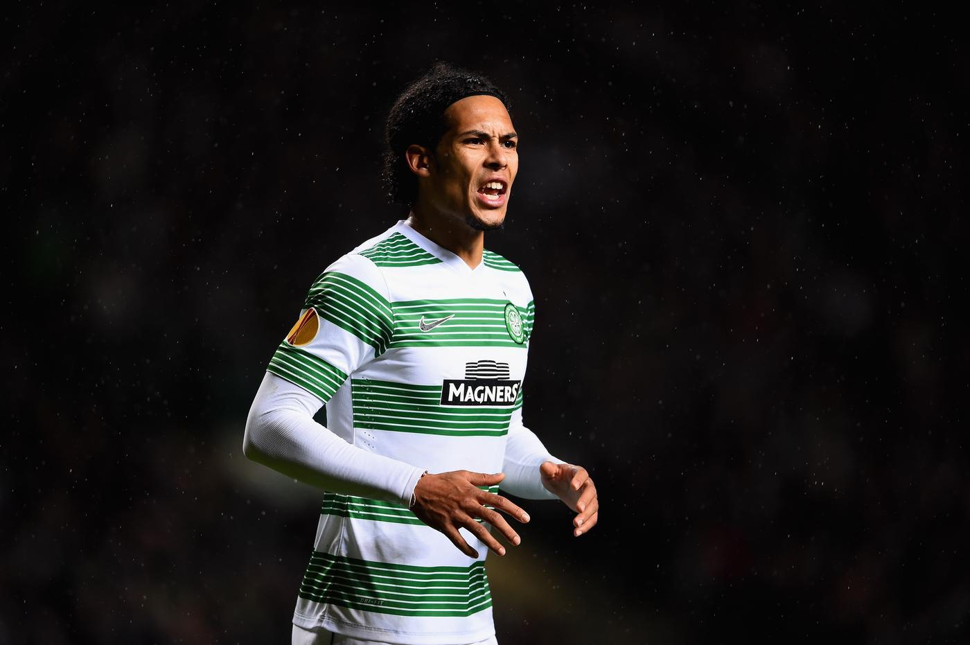 Virgil van Dijk 'on cusp of £9million Southampton transfer from Celtic'