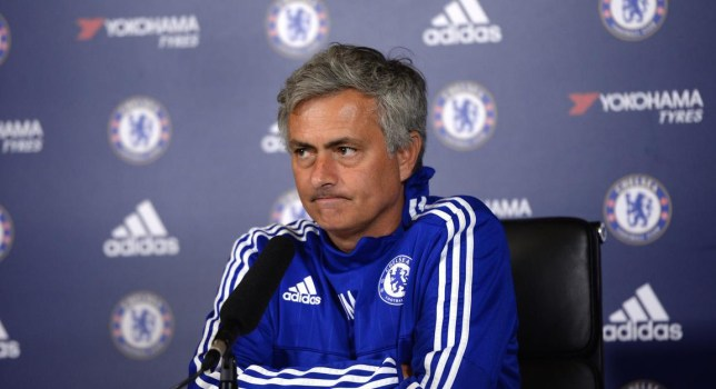 Chelsea manager Jose Mourinho during the press conference Tony O'Brien/Reuters