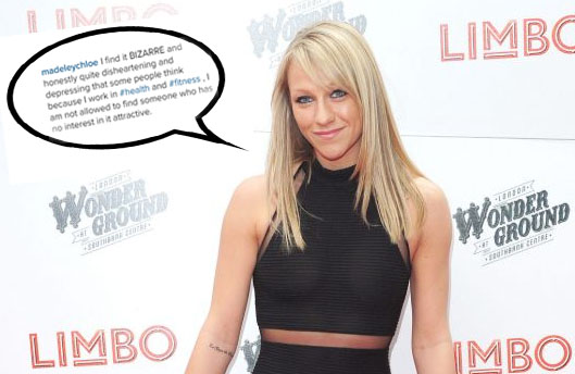 Chloe Madeley slams 'f**king judgmental women' who criticise other women's weight