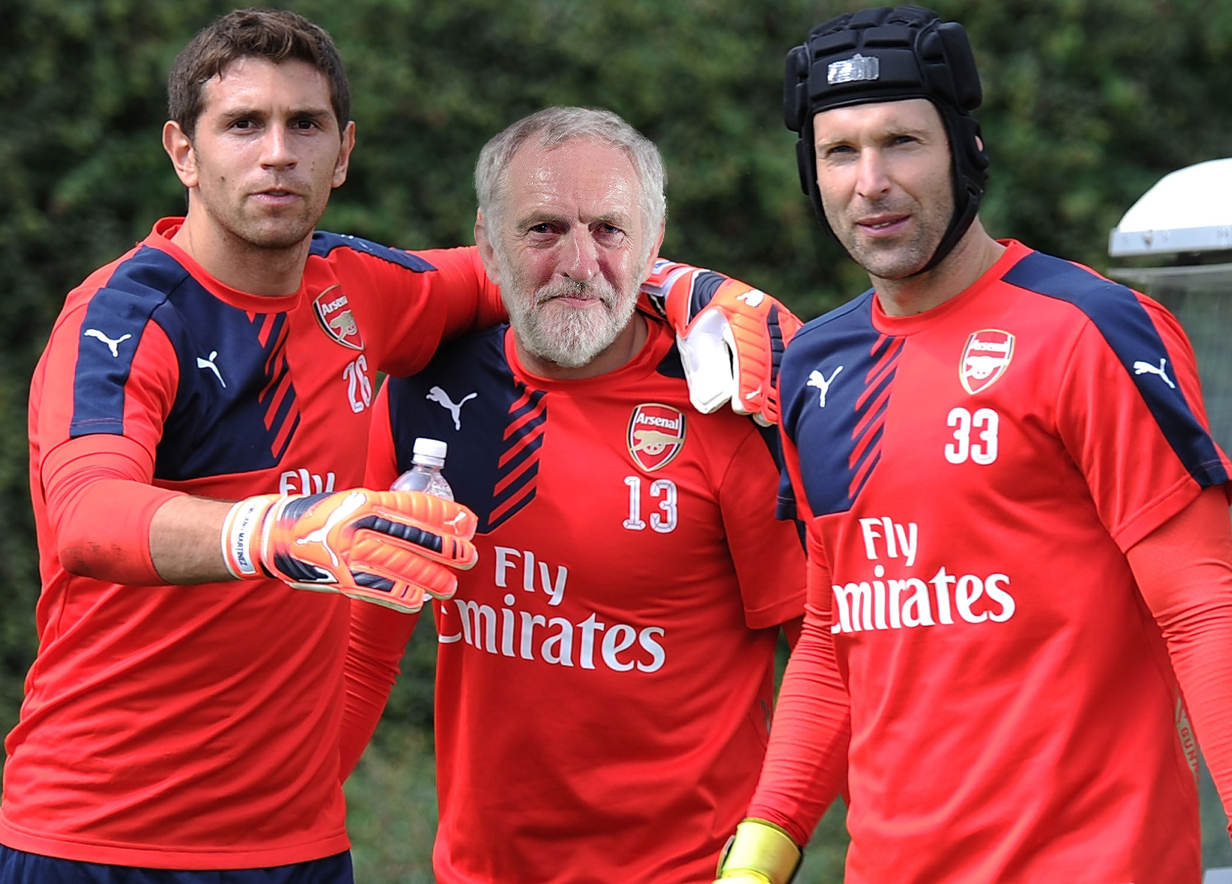 Jeremy Corbyn tried to pass a law to make Arsenal officially named the 'best team in world'