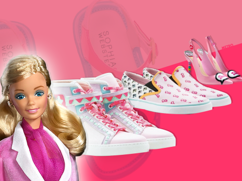 Barbie's finally caught up: she's wearing flats and trainers for the first time