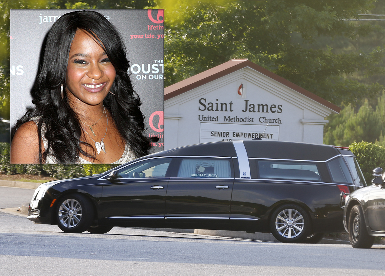 Bobbi Kristina Brown is laid to rest as family continue their ongoing feud