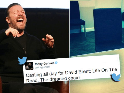 Ricky Gervais begins his search for a cast to join him in David Brent: Life On The Road
